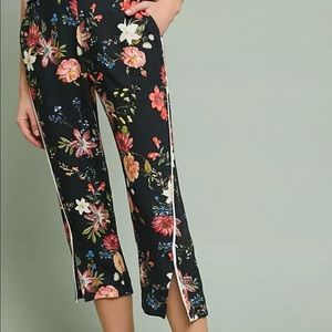 Anthropologie Farm Rio Cropped Pant Small 🌺🌸🌼